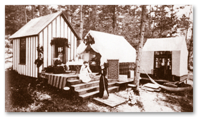 1875 Methodist Retreat Tents