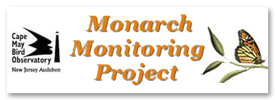 Cape May Bird Observatory Monarch Monitoring Project Logo