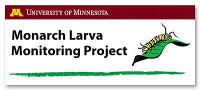 Monarch Larva Monitoring Program Logo